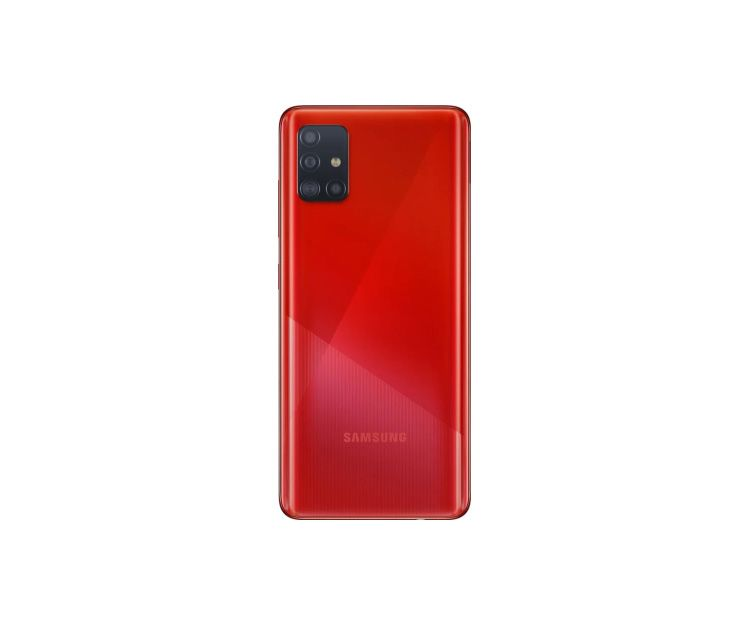Смартфон Samsung Galaxy A-51 4/64GB Red(SM-A515FZRUSEK), фото 2 - интернет-магазин ДомКомфорт