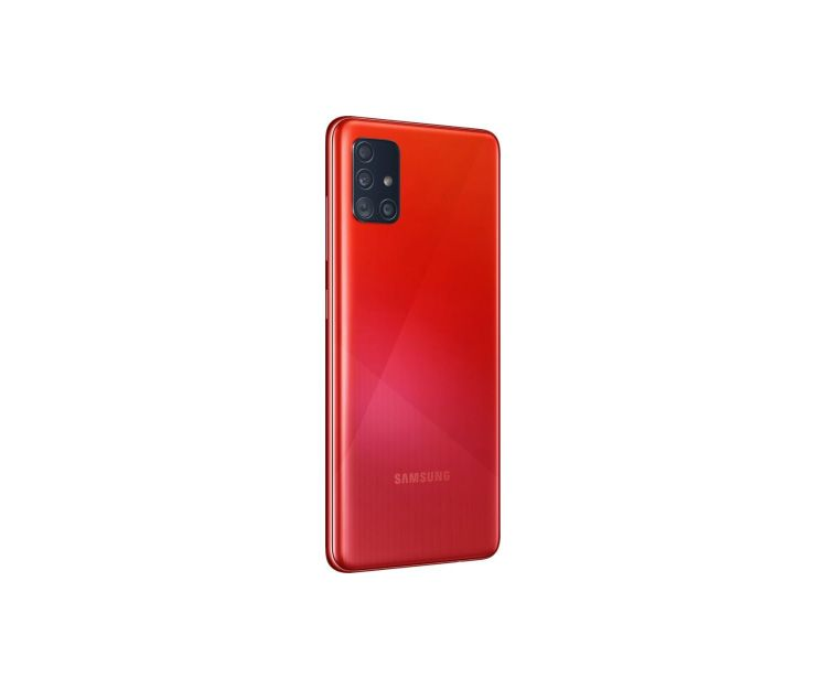 Смартфон Samsung Galaxy A-51 4/64GB Red(SM-A515FZRUSEK), фото 3 - интернет-магазин ДомКомфорт