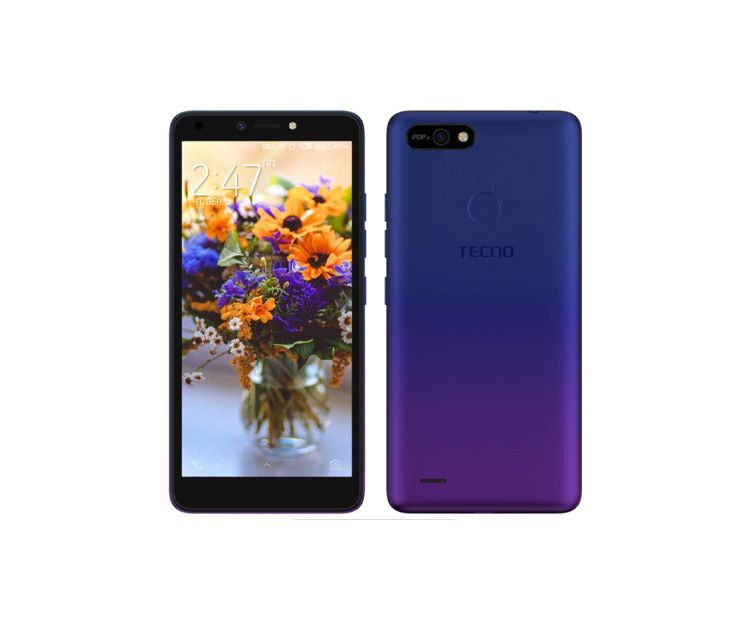 Смартфон TECNO POP 2F (B1F) 1/16GB Dawn Blue, фото 2 - интернет-магазин ДомКомфорт