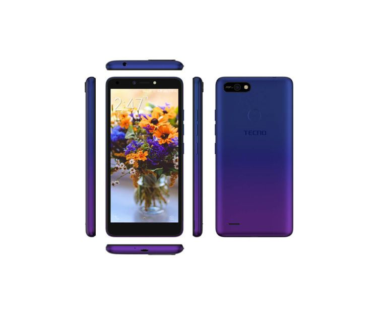 Смартфон TECNO POP 2F (B1F) 1/16GB Dawn Blue, фото 3 - интернет-магазин ДомКомфорт